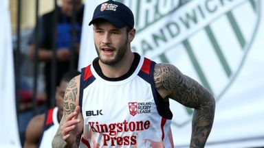 Team-mates rally around Hardaker