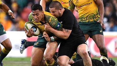Australia 23-18 New Zealand