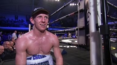 Patience pays off for Cheeseman