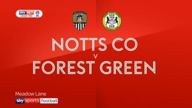 Notts Co 1-1 Forest Green