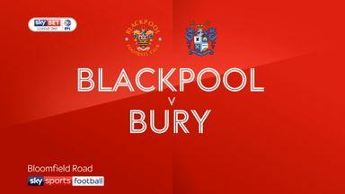 Blackpool 2-1 Bury