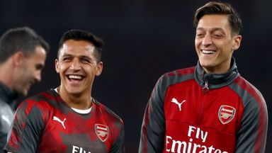 Per: Ozil and Sanchez 100% committed