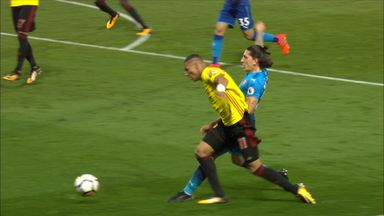 Did Watford's Richarlison 'dive' to earn penalty?