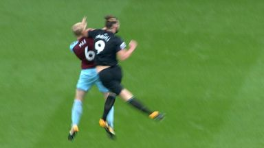 Carroll sent off for elbow