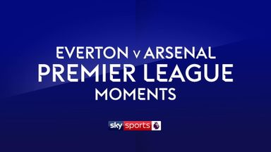 Everton v Arsenal Moments