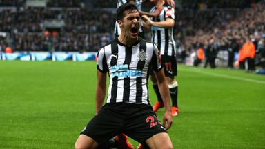 Newcastle 1-0 Crystal Palace