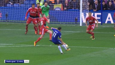 Chelsea lucky with opening goal?