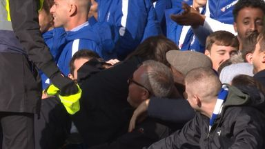 Conte in the crowd again!