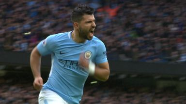 Aguero equals City record