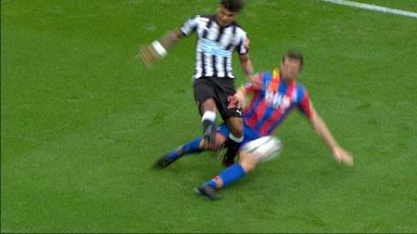 Should Cabaye have seen red?