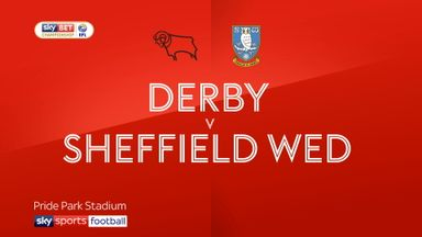 Derby 2-0 Sheffield Wednesday