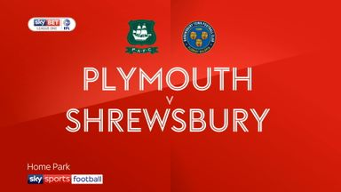Plymouth 1-1 Shrewsbury