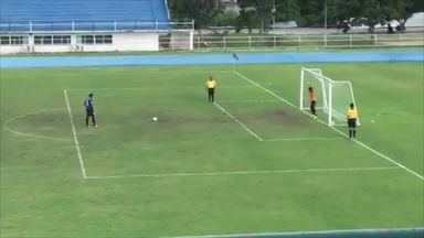 Bizarre penalty scored in Thai Cup