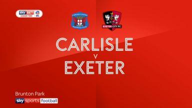 Carlisle 0-1 Exeter
