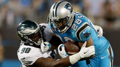 Eagles 28-23 Panthers