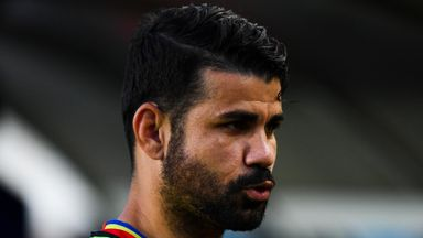 Costa ups Atletico training
