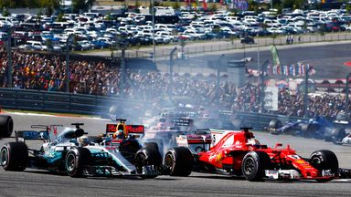 Hamilton retakes the lead of US GP
