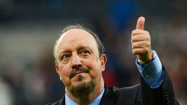 Perez: Rafa gives me confidence