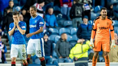 Frenetic finish at Ibrox