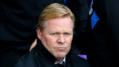 Koeman: Maybe I'm in the crisis