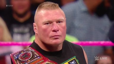 Lesnar sets his sights on Mahal