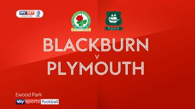 Blackburn 1-1 Plymouth