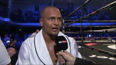 Eubank enjoys the spotlight