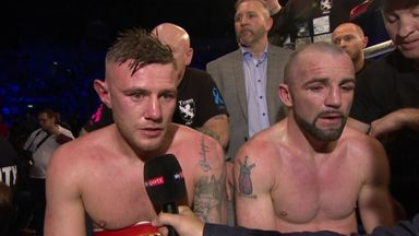 Hyland wins controversial decision