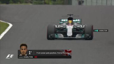 Hamilton sets Suzuka record
