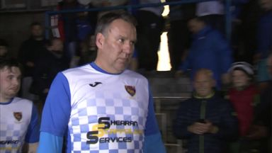 Merse makes football comeback
