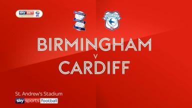 Birmingham 1-0 Cardiff
