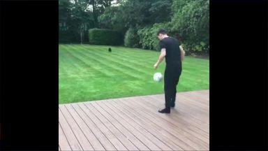 Ozil's garden skills