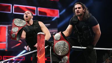 Ambrose and Rollins retain titles
