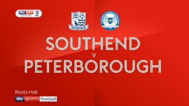 Southend 1-1 Peterborough