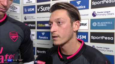 Ozil: We showed character
