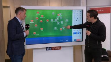 Carragher and Neville's big-match tactics
