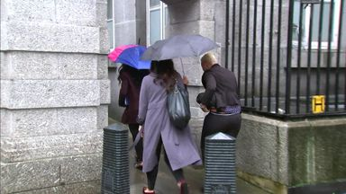 Aluko & Sanderson arrive at hearing