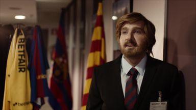Dynamo surprises Barcelona fans