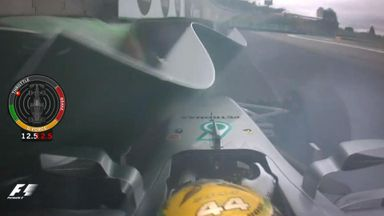Hamilton crashes out of Q1