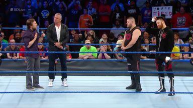 Daniel Bryan stops Shane firing KO and Zayn