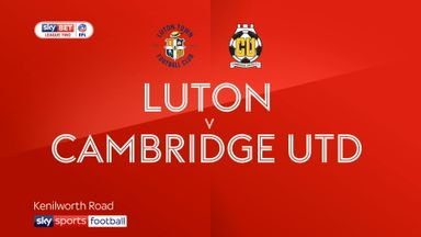 Luton 7-0 Cambridge