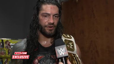Reigns' message to his family