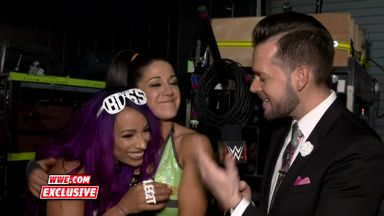 Banks congratulates Bayley