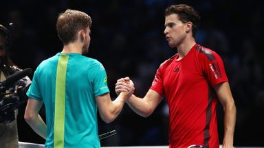 Thiem v Goffin: Highlights