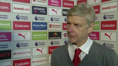 Wenger: We played with freedom