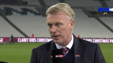 Moyes: Our performance merited more