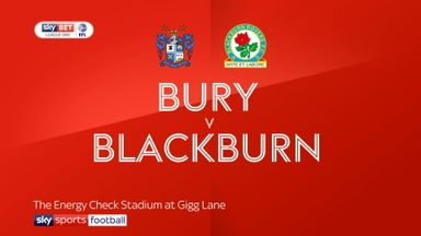 Bury 0-3 Blackburn
