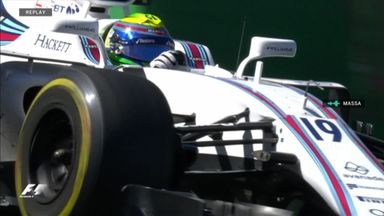 Massa Jr's emotional message