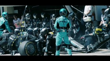 The art of the F1 pit stop
