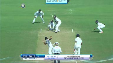 India v SL: T2 D2 highlights